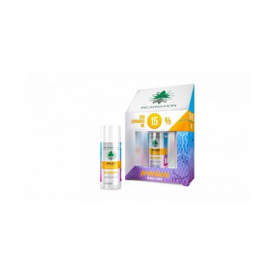 Incannation CBD olie Premium puur 15% 10 ml + 2 ml gratis