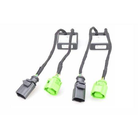 AUDI A3 8V facelift LED-achterlichten / -achterlichten Cabriolet-aansluiting voor dynamische richtingaanwijzers