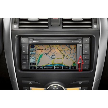 Here Map update 2018 - 2019 TOYOTA TNS510 Navigation PZ445-SD333-0R