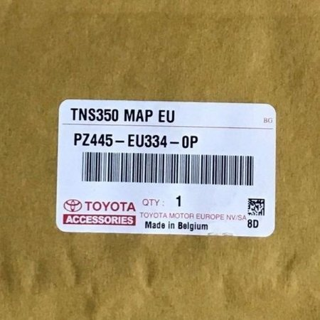 Here Kartenupdate 2018 - 2019 TOYOTA-Version 1 TNS350-Navigation PZ445-EU334-0P