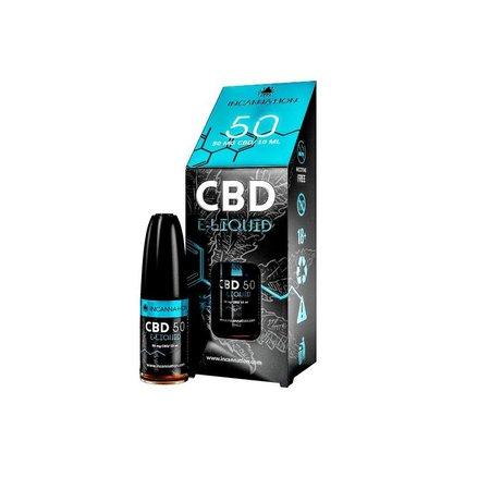 Incannation CBD Vrigina Tabacco vloeibare E-sigaret 50 mg tot 10 ml Cannabidiol
