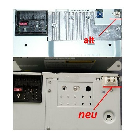 Car Gadgets BV Antenna adapter Y-distributor VW Navigation unit