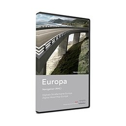 AUDI NAVIGATION PLUS RNS-E DVD Europe Version 2016 DVD 3/3 8P0 919 884 CG DEMO MODEL - Copy
