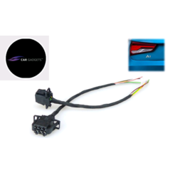 AUDI A1 8X LED Heckleuchten Rückleuchten Adapter Facelift