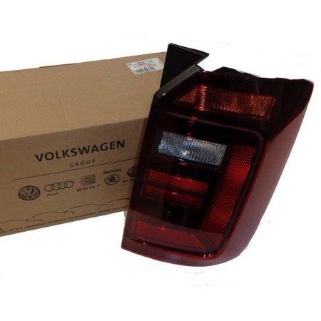Volkswagen Facelift LED achterlichten - Caddy - Smoke achterklep