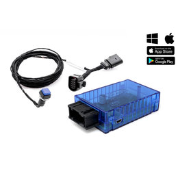 Sound Booster Pro Active Sound for Audi A6 4G, A7 4G, SQ5 with BT app