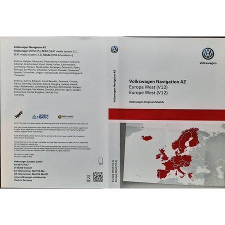 VW Navigation Update 2020, Westeuropa V12 3AA051866BE