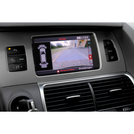 APS vooraf - Compleet - Audi Q7 4L w / achteruitrijcamera MMI 3G