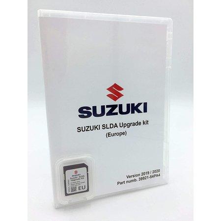Here Map update 2020 SD Card - SUZUKI Navigation