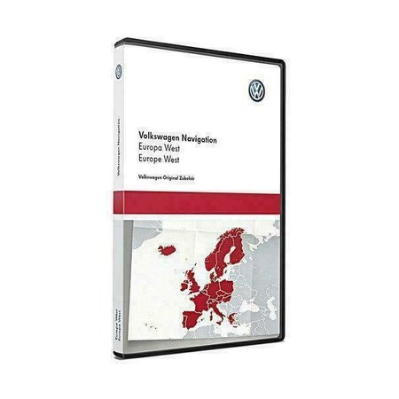 VW Navigatie Update 2020, West-Europa V12 Art. 3AA051866BE