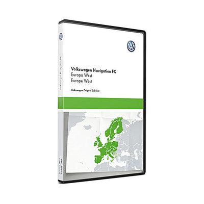 Here Update RNS310 West-Europa V10 VW Navigatie 3C8051884DD