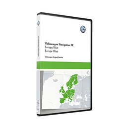 Here RNS310 Western Europe V12 VW Navigation 3C8051884DI Map update