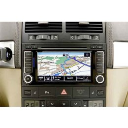 VW RNS510 MFD3 Navigation Navi RNS 510 T5 Touareg DAB+ 7E0 035 686 SSD