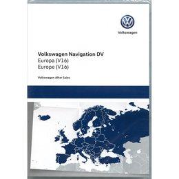 Here MIB 2.5 Entdecken Sie Pro Western Europe 2020 V16 VW Navigation 510919866AE Kartenaktualisierung