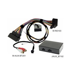 Audio-interface A2DP voor VW RNS510 RCD510, Skoda Columbus Bluetooth AUX MDI-streaming