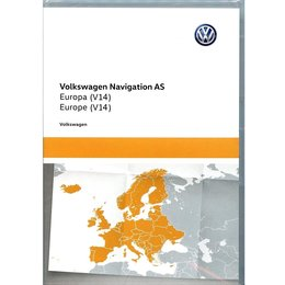 volkswagen Discover Media West-Europa 2022 V14 VW Navigatie 5NA919866BK