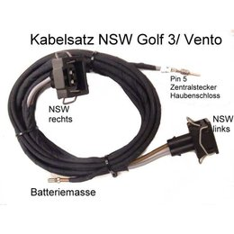 Fog Light Wiring - Kabel - VW Golf 3 / Vento