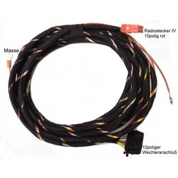 Wiring harness CD-changer - VW - 5m - until April 1998