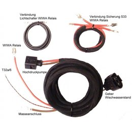 Koplampsproeiers (w / o sensoren) - Kabel - VW Passat 3B