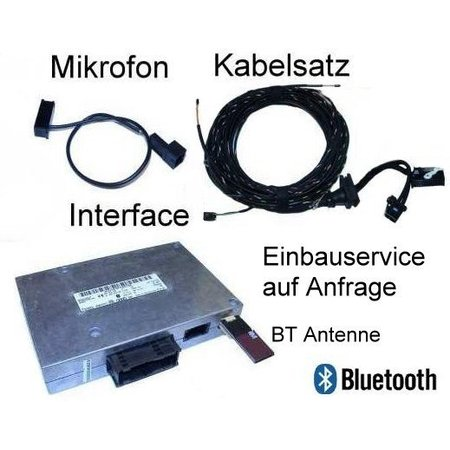"Bluetooth Handsfree w / SDS Retrofit -Audi A6 4F- ""Bluetooth Only"