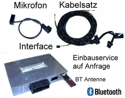 Bluetooth Handsfree w/ SDS- Retrofit -Audi A6 4F-