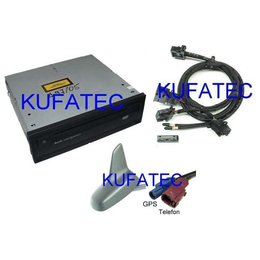 "DVD Navigation - Retrofit - Audi Q7 4L- ""Complete"" - MMI 2G"