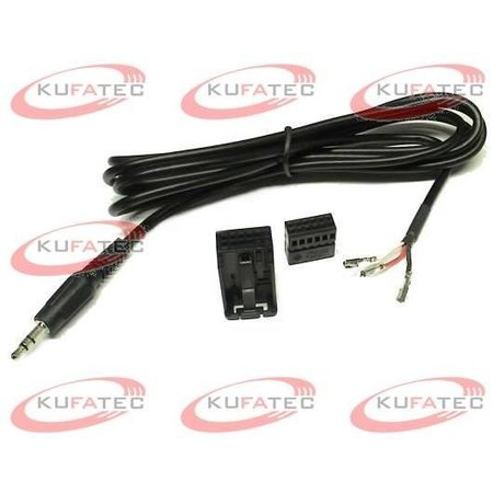 Aux-In-Buchse - 3,5 mm Adapter - VW MFD2 / RNS2
