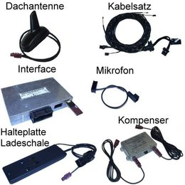 "Bluetooth Handsfree met SDS - Retrofit - Audi A6 4F- ""Complete"""