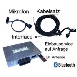 "Bluetooth Handsfree w / SDS Retrofit -Audi A8 4e- ""Bluetooth Only"
