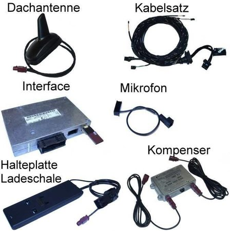 """Bluetooth-Freisprecheinrichtung mit SDS - Audi A8 4E- """"Complete"""""""