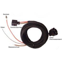 Koplampsproeiers (w / sensoren) - Kabel - Audi A4 B6, Audi A4 B7