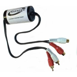 Radio Noise Filter Over Chinch Audio- 40Hz-32kHz