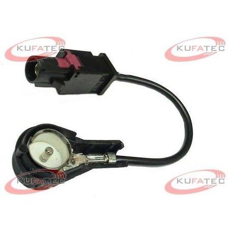 Antenne adapter FAKRA zwart - 50 ohm van ISO