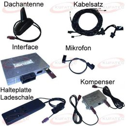 "Bluetooth Handsfree - Retrofit - Audi TT 8J- ""Complete"""