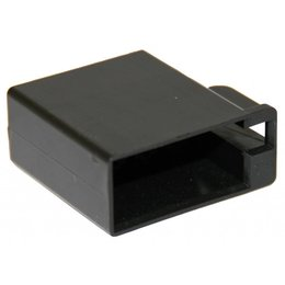 ISO - Schwarz Buchsengehäuse - 8-polig, 10pc