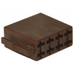 ISO - Lautsprecher Steckergehäuse - 8-polig, 10pc