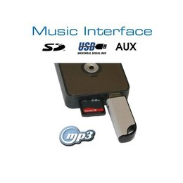 Digitales Music Interface USB SD AUX Mini ISO Audi VW Seat Skoda