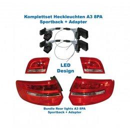 Facelift LED Rear Lights - Retrofit - Audi A3 8PA Sportback
