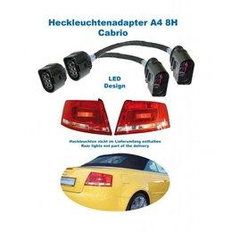 Facelift LED achterlichten - Adapter - Audi A4 8H Cabrio