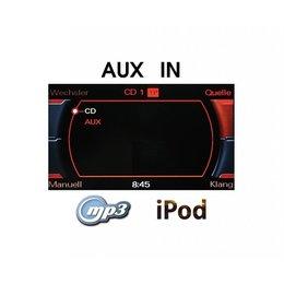 AUX-IN Radio Concert/Symphony - Retrofit - Audi