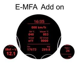 E-MFA DIS-Add-On - Anzeige Boost, Öl, Batterie