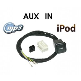 Aux-In Jack - Retrofit - VW RNS 510, MFD2, RCD 310