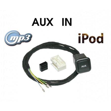 Aux-In Jack - Retrofit - VW MFD2 (DVD-versie)