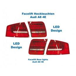 Facelift LED achterlichten - Lights Only - Audi A8 4E