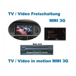 Video in Motion - MMI 3G - Audi A1, A5, Q5, Q7, A6 4F, A8 4E, A8