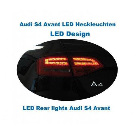 Bundle LED Heckleuchten Audi A4 / S4 Avant