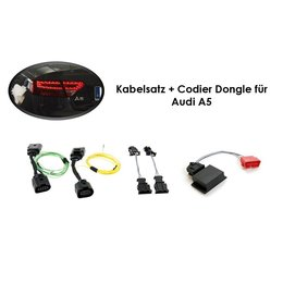Kabelboom + codering dongle LED achterlichten Audi A5 / S5