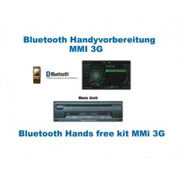 "Bluetooth Handsfree - Audi A4 8K with MMI 3G ""Bluetooth Only"""