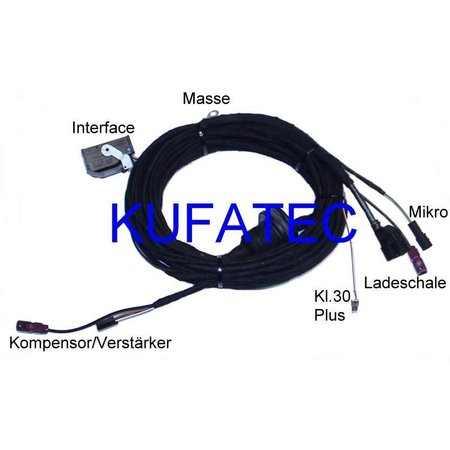 "Bluetooth handsfree- Kabel- Audi A4 8K, Audi A5 8T ""Complete"""