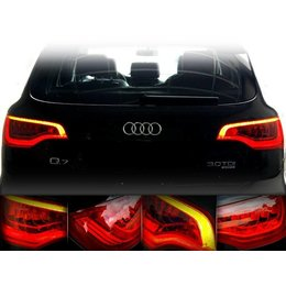 LED Rear Lights Audi Q7 - retrofit-